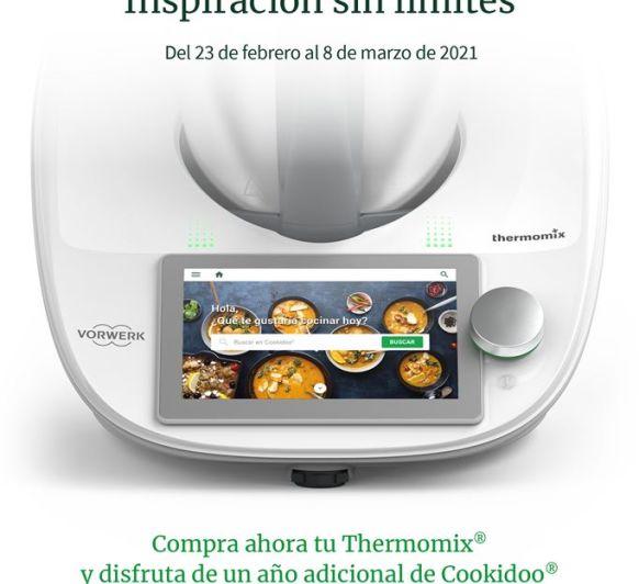 INSPIRACIÓN SIN LÍMITES CON Thermomix®