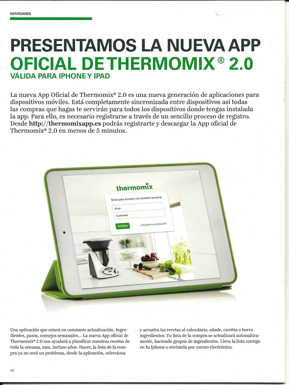 Thermomix App 2.0