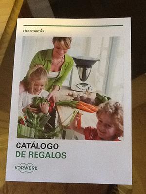 Nuevo catálogo de regalos.