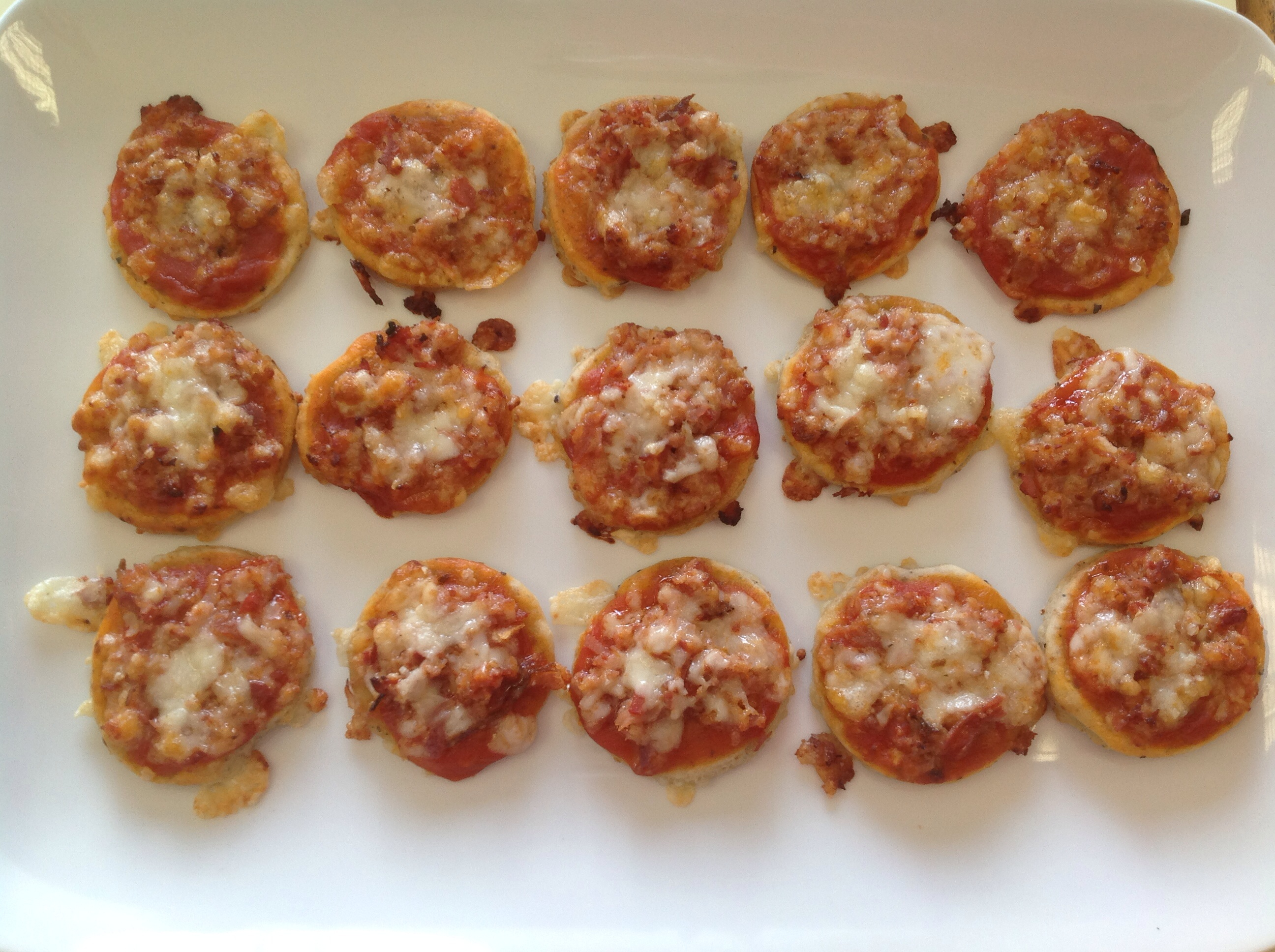 Mini pizzas con Thermomix®