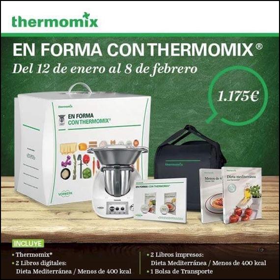 ULTIMOS DÍAS!!!!!! EDICIÓN EN FORMA CON Thermomix®