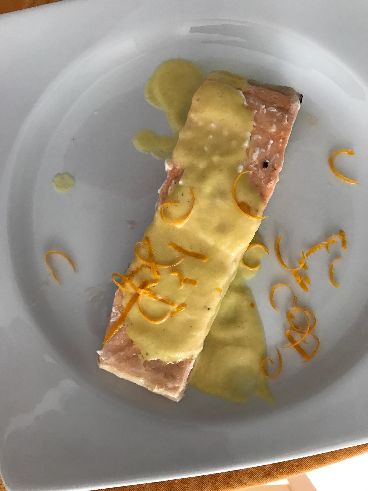Salmón en Salsa de Naranja con Thermomix®