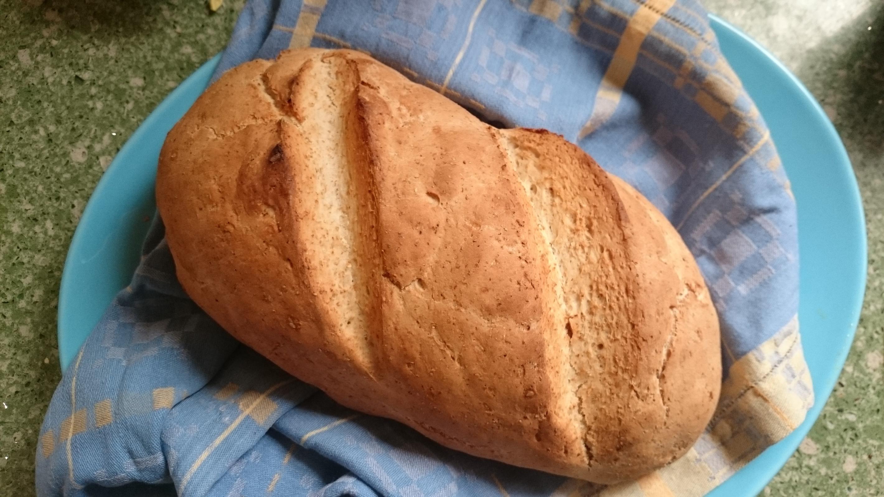 Pan rápido integral.