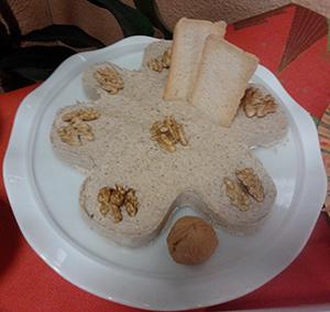 Paté de Nueces y Champiñones.