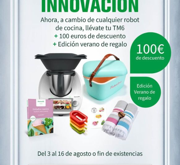Thermomix® TM6 EDICIÓN VERANO CON DESCUENTO!!!!!!