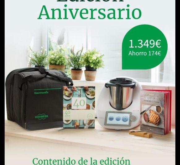 40 años con Thermomix® , Edición aniversario!!!!!