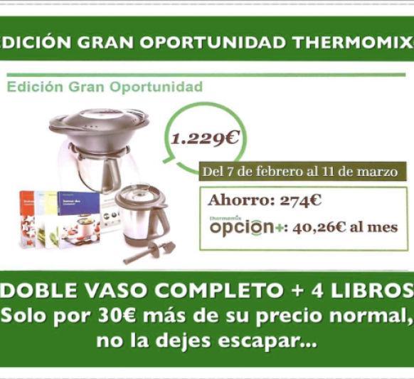 Thermomix® Ahorro de 247€, últimos días!!!!