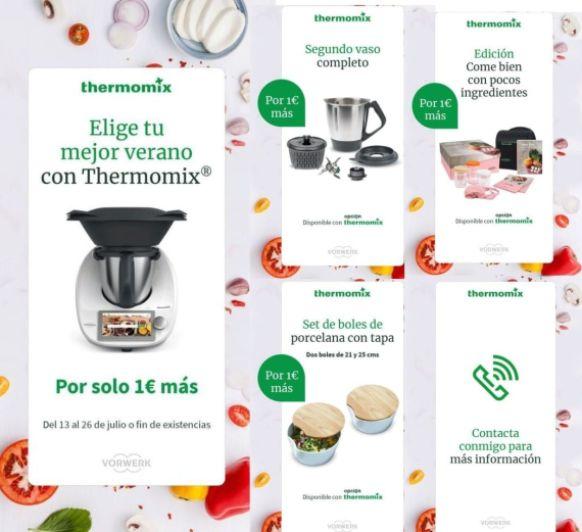 Thermomix® TM6 CON SEGUNDO VASO POR 1€