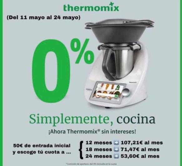 Thermomix® TM6 SIN INTERESES y a tu medida!!!