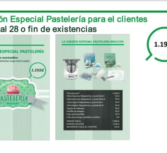 Edición Especial Pasteleria
