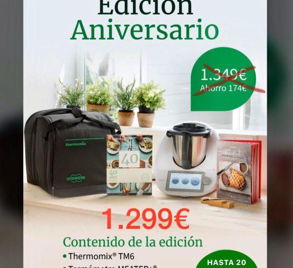 OFERTON!!!!! 40 años con Thermomix® , Edición aniversario!!!!!