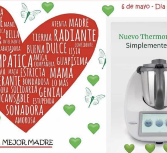 Thermomix® TM6 PARA LA MEJOR MADRE DEL MUNDO