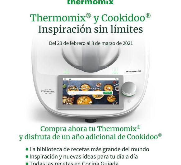 Thermomix® TM6 INSPIRACIÓN COOKIDOO SIN LÍMITES