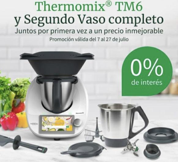 ÚLTIMA SEMANA Thermomix® ️ CON DOBLE VASO COMPLETO