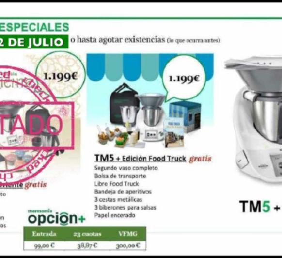Thermomix® TM5 EN SÚPER LIQUIDACIÓN