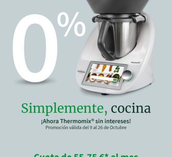 Thermomix® TM6 SIN INTERESES: APROVECHA LA OCASIÓN