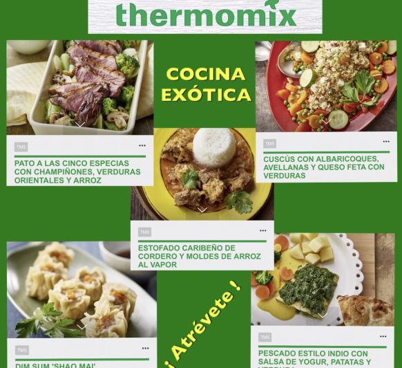 COCINA EXÓTICA CON Thermomix®