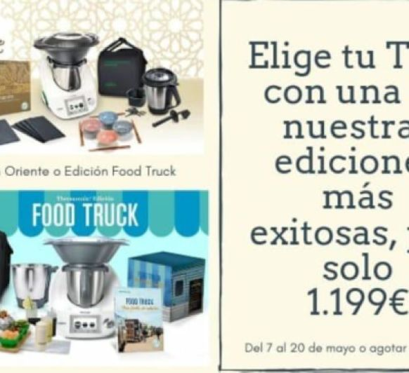 Thermomix® TM5: LIQUIDACIÓN TOTAL