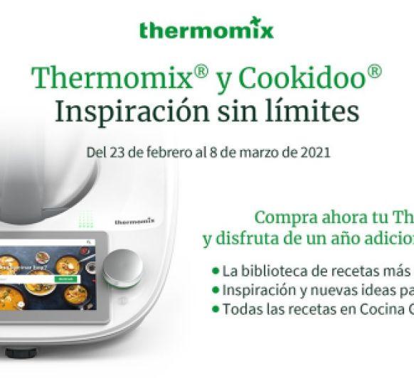 Thermomix® TM6 Y COOKIDOO: INSPIRACIÓN SIN LÍMITES