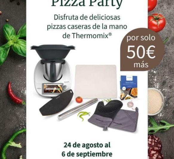 EDICIÓN PIZZA PARTY DE Thermomix®