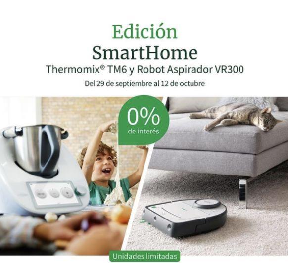 Thermomix® ️ Y ASPIRADOR JUNTOS AL 0%