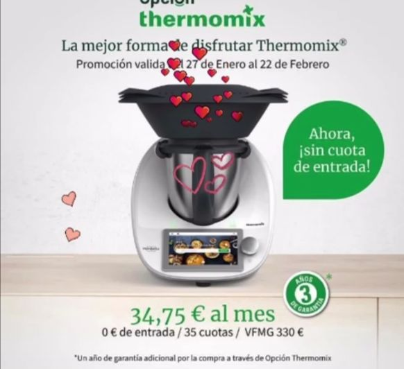 Opcion Thermomix® sin entrada