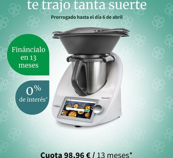 Thermomix® SIN INTERESES HASTA EL MARTES 6 DE ABRIL