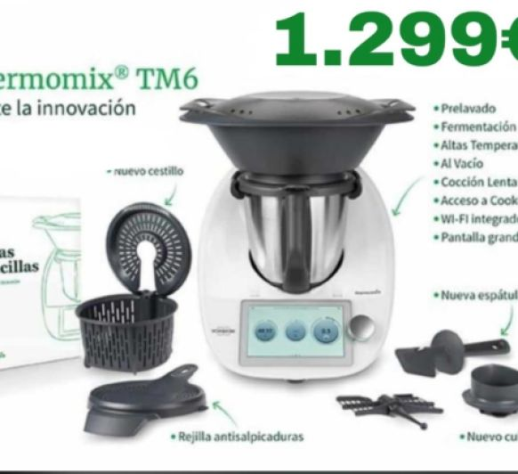 Thermomix® TM6 Y DE REGALO...... BETTY