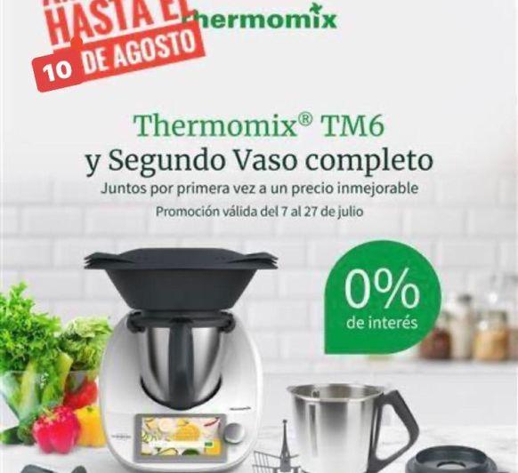 Thermomix® SIN INTERESES Y DOBLE VASO UNOS DÍAS MAS