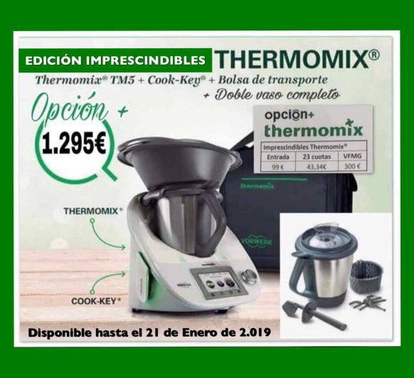 Thermomix® : EDICIÓN IMPRESCINDIBLES