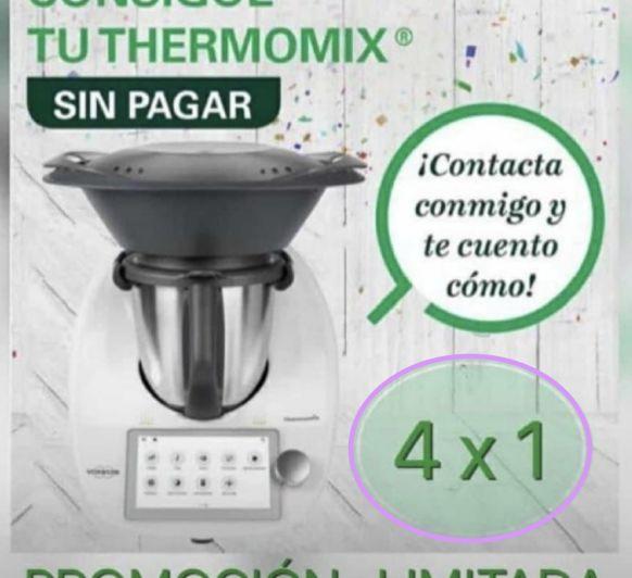 Consigue Thermomix® TM6 GRATIS