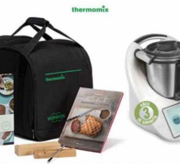 Thermomix® España celebra 40 años con una increíble edición especial. Participa con tu compra en el sorteo diario de un Thermomix® .