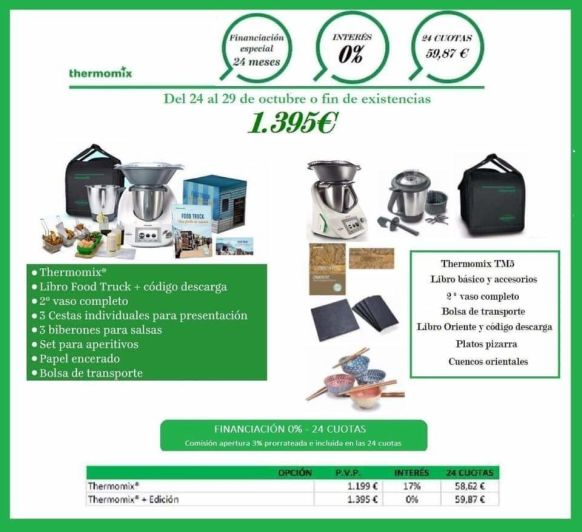 Thermomix® SIN INTERESES ORIENTE Y FOOD TRUCK