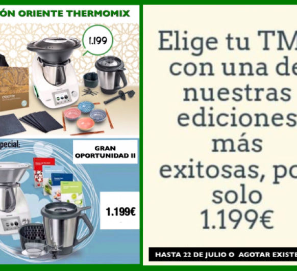 LIQUIDACIÓN Thermomix® HASTA LUNES 22 JULIO