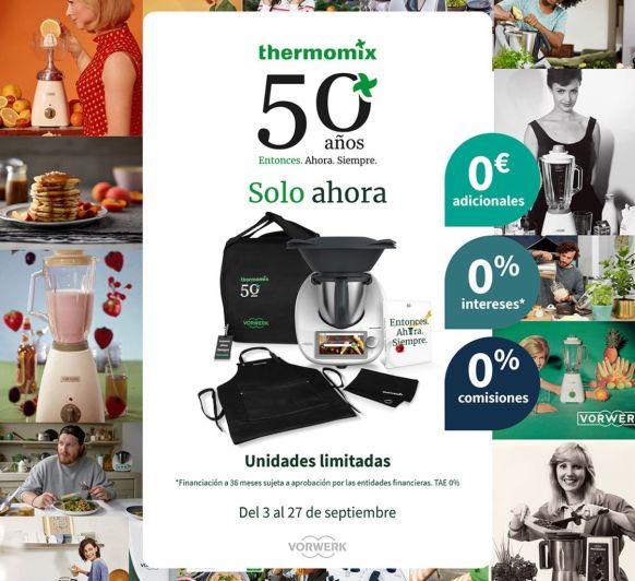 TM6 50 ANIVERSARIO Thermomix® 1.299€