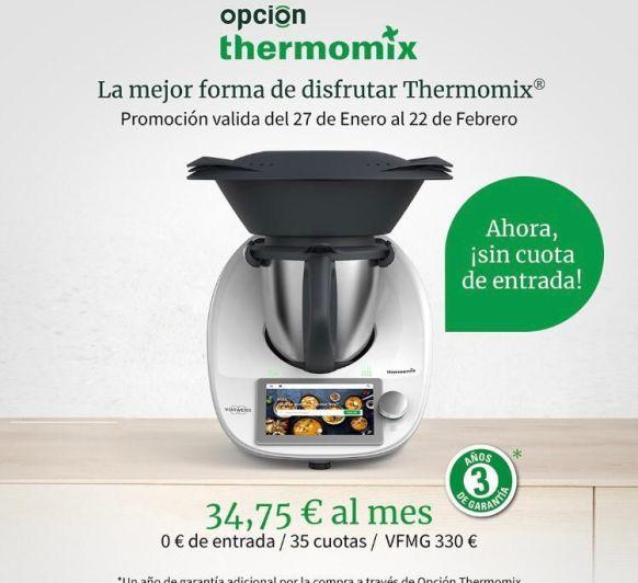 OPCION Thermomix® LA MEJOR FORMA DE DISFRUTAR TU Thermomix®
