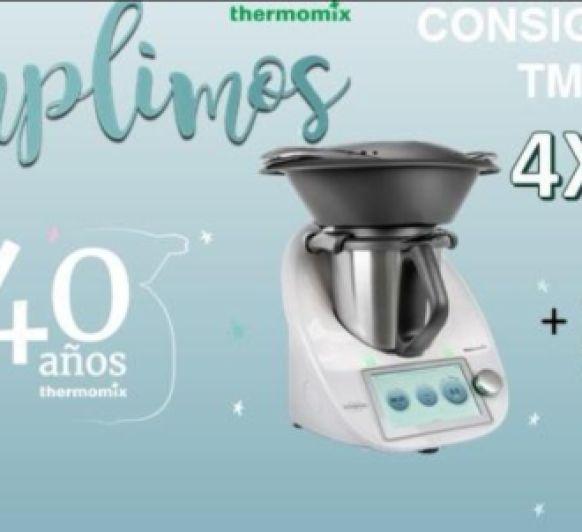 Thermomix® TM6 SIN PAGAR PARA NUESTROS CLIENTES