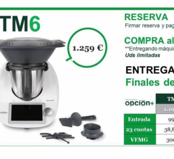 ¿Thermomix® TM5 O Thermomix® TM6? TU DECIDES