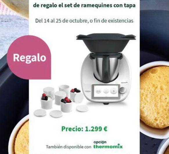 Thermomix® TM6 CON 6 RAMEQUINES DE REGALO