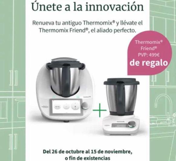 Thermomix® ️ TM6 + REGALAZO VALORADO EN 500€