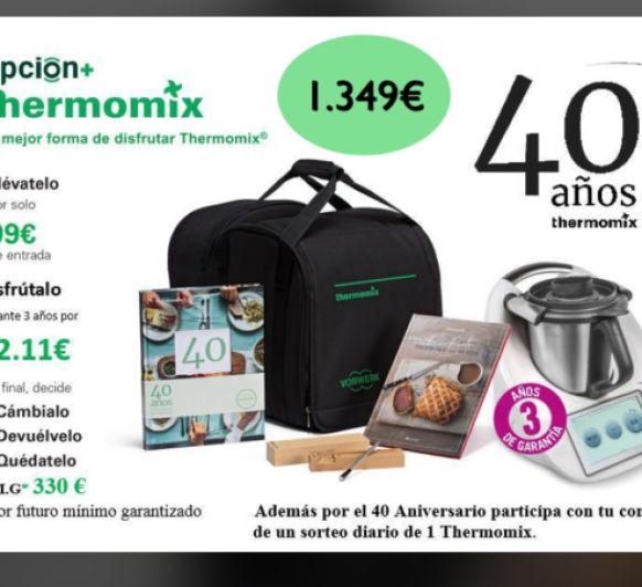 EDICIÓN Thermomix® 40 ANIVERSARIO