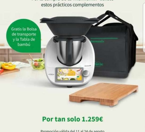 Thermomix® TM6 A 1259€ HASTA EL 24 DE AGOSTO...