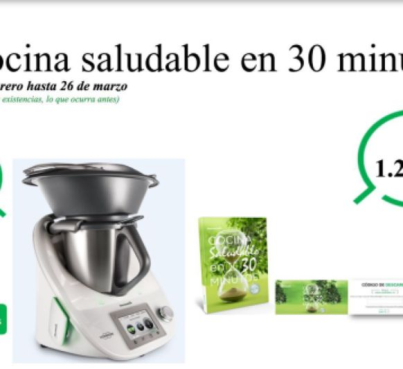 Ltimos d as financia sin intereses tu thermomix edici n for Cocina saludable en 30 minutos thermomix
