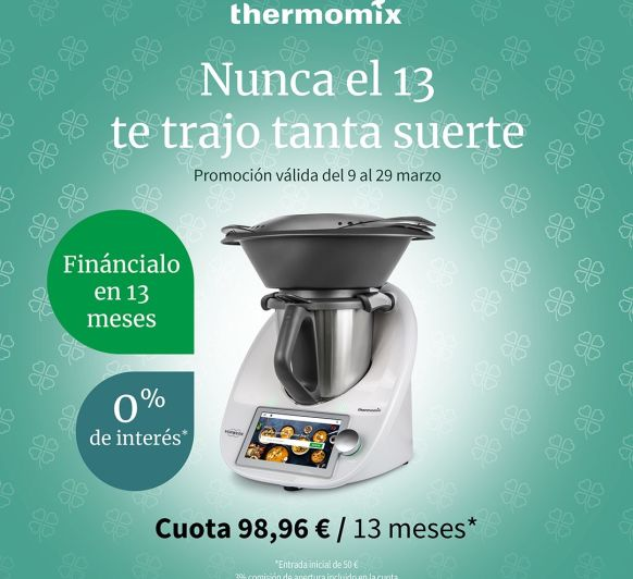 Thermomix® TM6 HASTA 29 DE MARZO SIN INTERESES