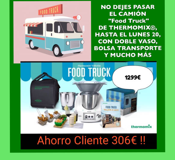 Thermomix® FOOD TRUCK, LLEGÓ LA CUENTA ATRÁS