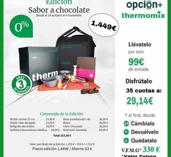 Thermomix® TM6 Edición Chocolate SIN INTERESES!!!!